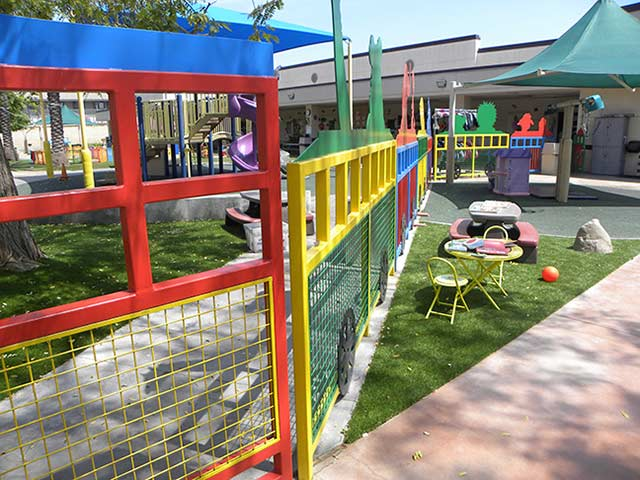 safe play area for toddlers