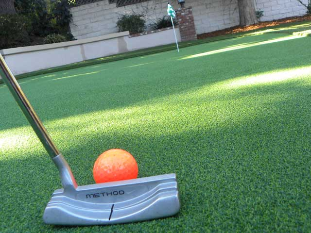 realistic putting greens